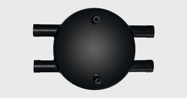 Die hocheffiziente, hydraulische Weiche Zort-S kann lageunabhängige montiert werden.