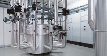 Verteiler, hydraulische Weiche mit exakter Temperaturtrennung für multivalente Anlagen