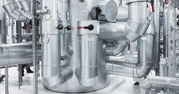 Verteiler, hydraulische Weiche und Puffer mit exakter Temperaturtrennung für multivalente Anlagen
